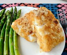 Gluten-free and paleo-friendly Coconut Crusted Cod