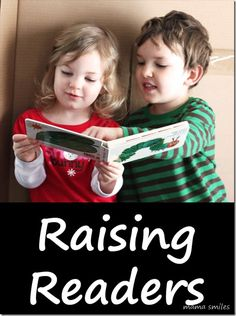 raising readers - 7 things you can do to encourage kids to love books + 7 benefits of reading for kids. #literacy #ece #parenting #education