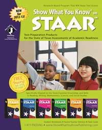 Interactive catalog for Show What You Know on STAAR test-prep materials. Includes links to sample pages!