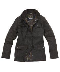 Barbour Ladies Utility Jacket - Olive