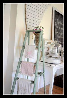 Ladder in the Kitchen