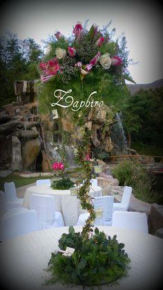 Decoraciones para fiestas on pinterest bodas mesas and - Decoraciones para bodas sencillas ...