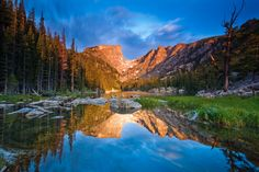 Image detail for -Dream Lake by Joshua Sargent in Rocky Mountain National Park on ...