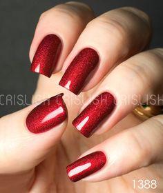 aengland rose, rose bower, nail polish, makeup, gel nails red