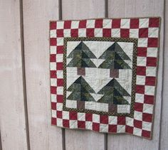 Christmas wall quilt
