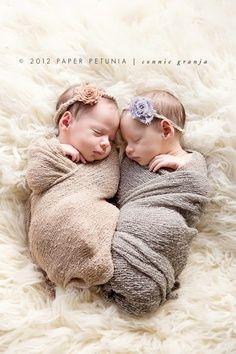 Shabby Chic Newborn Twin Girls {Delray Beach Newborn Photographer}   Paper Petunia Family Photography   best stuff