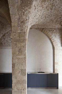 jaffa apartment stone restoration pitsou kedem architect