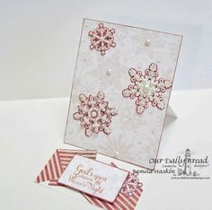 Stamps - Our Daily Bread Designs	Sparkling Snowflakes, Snowflake Sentiments, ODBD Christmas Paper Collection 2013, ODBD Custom Snowflakes Die