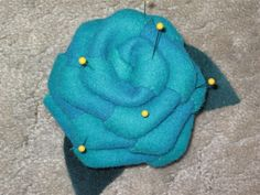 Rose pin cushion