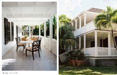 Caribbean Wrap around verandas