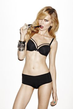 Fall|Winter 2012 - Space Odyssey Black  Bras from € 69.95 Bottoms from € 35.95