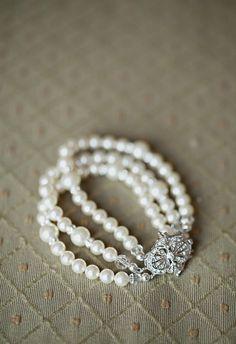 Bridal bracelet by One World Designs Bridal Jewelry :)