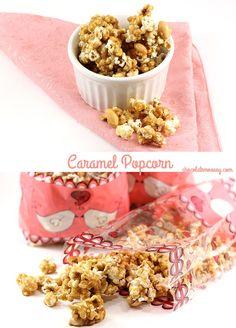 Homemade Caramel Pop