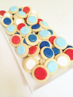 4th of July Confetti Cookies by SunshineBakes