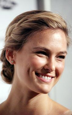 Bar Refaeli | Low Bun w/ Side Braid