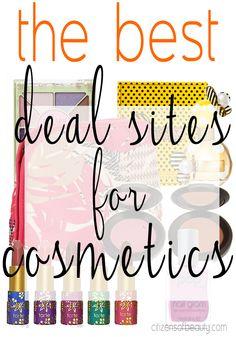 The Best Deal Sites for #Cosmetics On-line #deals #makeup #Bblogger @hautelook @overstock @amazon