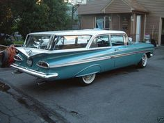 1959 Chevy 2 door wagon.