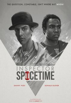 """Inspector Spacetime"" - by Sam Spratt"