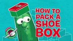 Larry and Bob show us how to a pack a shoebox for Samaritan's Purse.