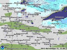 Minnesota Snow Depth and Snow Accumulation