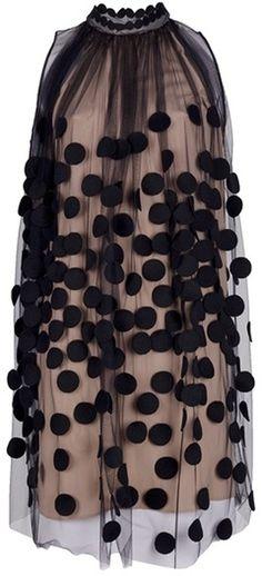 Stella McCartney                    Dotted Gauze Dress