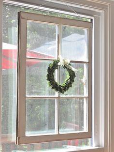 old window repurposed