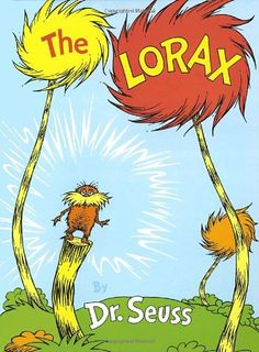 The Lorax by Dr. Seuss, now available from Thrift Books.
