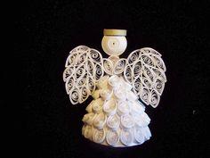 2010 All White Angel Ornament. $18.95, via Etsy.