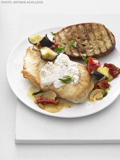 Chicken With Sun-Dried Tomato, Eggplant and Basil Recipe : Food Network Kitchen : Food Network - FoodNetwork.com