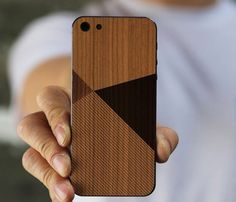 iPhone 5 Wood Skin By BlissfulCase – $29
