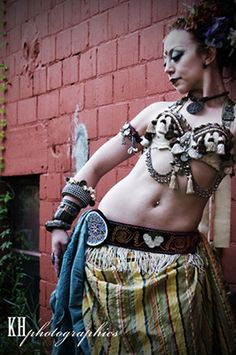 Lacey Sanchez of Florida Tribal Belly Dance