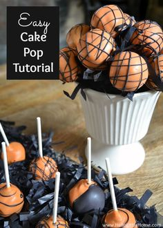 Easy Cake Pop Tutori