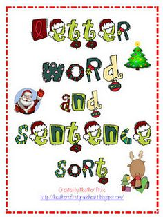 Letter, Word and Sentence Sort - - Pinned by @PediaStaff – Please visit http://ht.ly/63sNt for all (hundreds of) our pediatric therapy pins