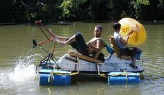 Bottle Bicycle Boats: Rat Patrol -- Trash Boats