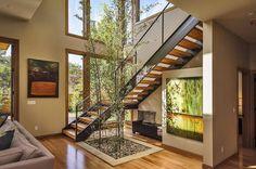 Escaleras y Ventanales