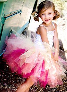 little girl tutu photography