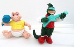 Dinosaurs McDonald's Happy Meal Toys - Dino Motion Baby Sinclair and Robbie - Vintage 1990s Disney ABC Dinosaurs 90 S Toys, 90S Kids, 1990S Disney, Abc Dinosaurs, Retro Toys, Toys Baby 90, Meals Toys, Mcdonalds Toys, Dinosaurs Mcdonalds