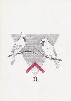 cardinals by Peter Carrington