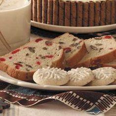 cherry pecan quick bread