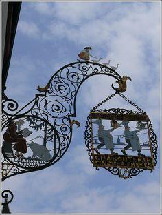 shop sign Colmar, France