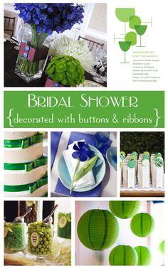 Pretty Wedding Shower Idea