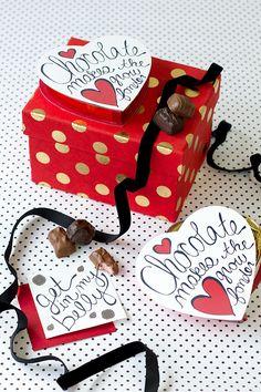 Free Printable Chocolate Box Makeover