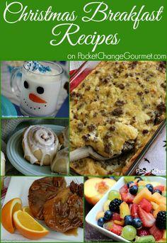 Christmas Breakfast Recipes on PocketChangeGourmet.com