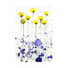 watercolor art flowers Watercolor Art ❤ liked on Polyvore