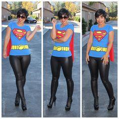 Happy Halloween! Supergirl Has a New Look!