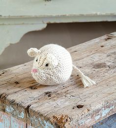 Knit a mouse tutorial