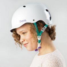 Bern Lenox ladies bike helmet Satin White 2014