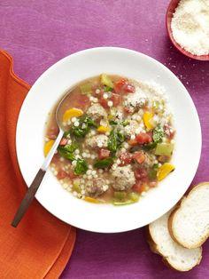 Italian Wedding Soup #myplate