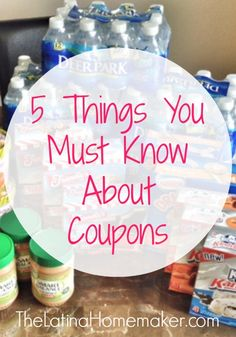 Whether you are using a few coupons a week, or are an extreme couponer, there are 5 things you must know about coupons.
