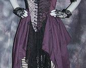 dress costum, costumes, corset dress, costum naughti, dress purpl, pirat gown, gown dresses, renaiss pirat, renaiss corset